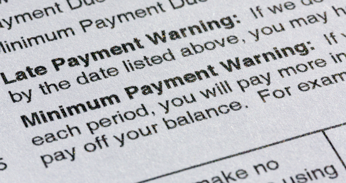 Late fees must be specifically authorized in your